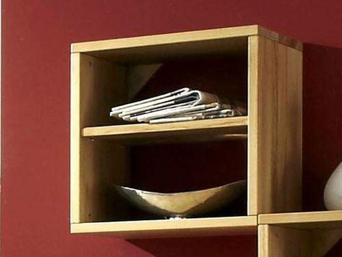 Hängekasten-Set Wandregale Kernbuche massiv geölt – Bild 6