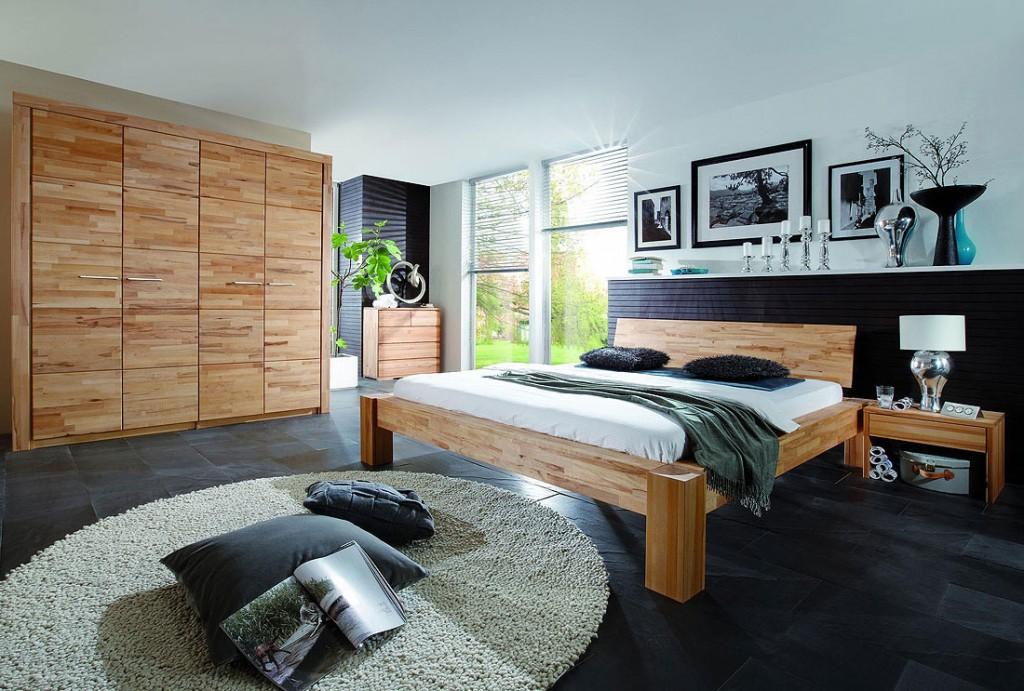 bett balkenoptik 200x200 kopfteil hercules i parkettverleimt buche massiv ge lt. Black Bedroom Furniture Sets. Home Design Ideas