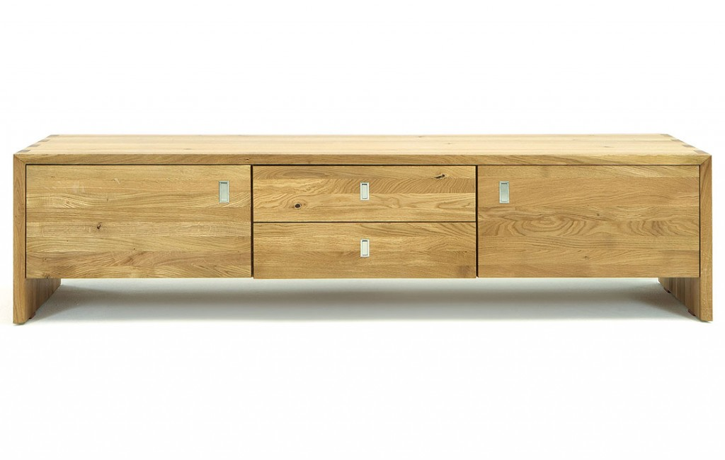 tv rack massivholz tv lowboard tv mobel kommode wildeiche massiv holz design