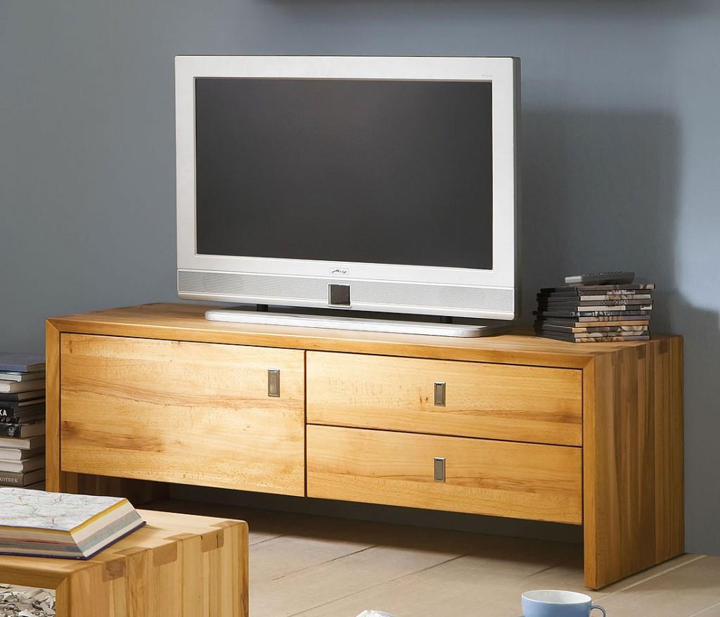tv lowboard 92x42x42cm kernbuche massiv ge lt. Black Bedroom Furniture Sets. Home Design Ideas