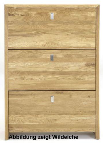 Massivholz Garderobe KERNBUCHE 4tlg. Dielenmöbel 4teilig massiv Holz – Bild 5