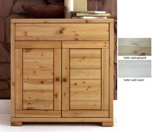 Schubladenkommode Wäschekommode Vollholz Schlafzimmerkommode Kiefer massiv – Bild 1