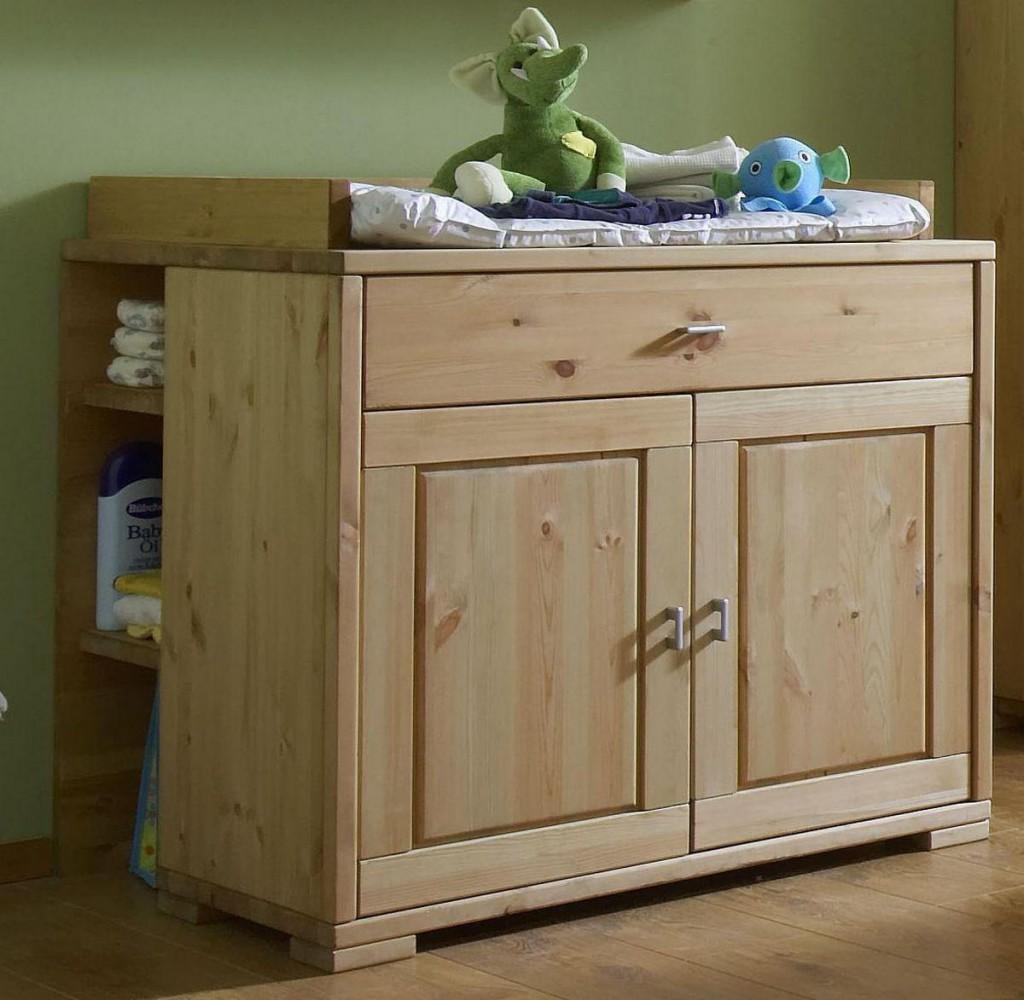 babyzimmer 6teilig kiefer massiv gelaugt ge lt. Black Bedroom Furniture Sets. Home Design Ideas