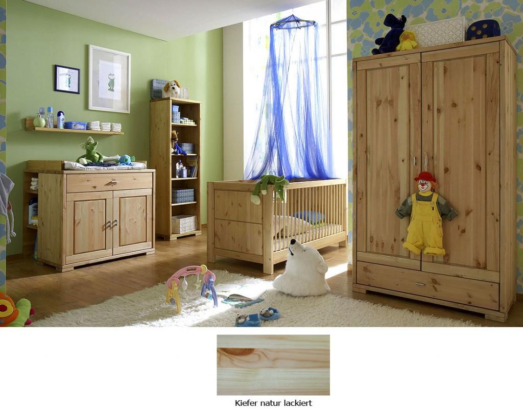babyzimmer komplett 6teilig kinderzimmer kiefer natur lackiert