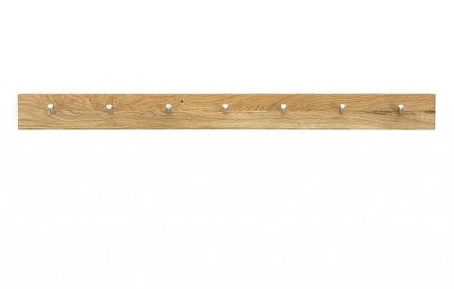 Massivholz Garderobe WILDEICHE 4tlg. Dielenmöbel massiv Holz – Bild 3
