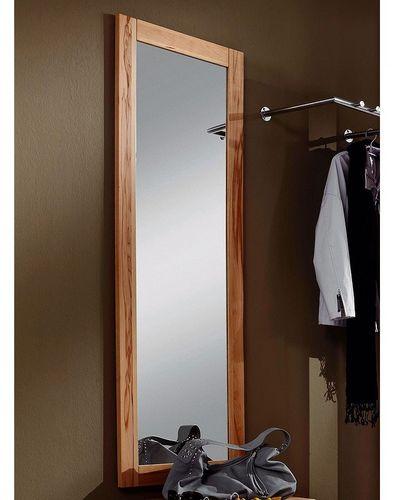 Spiegel 50x146 Wandspiegel Kernbuche Schlafzimmerspiegel Holz massiv geölt – Bild 1