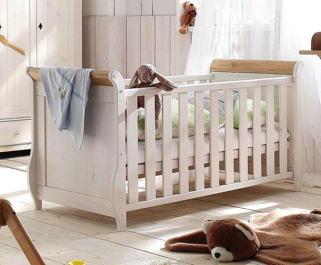 babybett 70x140 kiefer massiv. Black Bedroom Furniture Sets. Home Design Ideas
