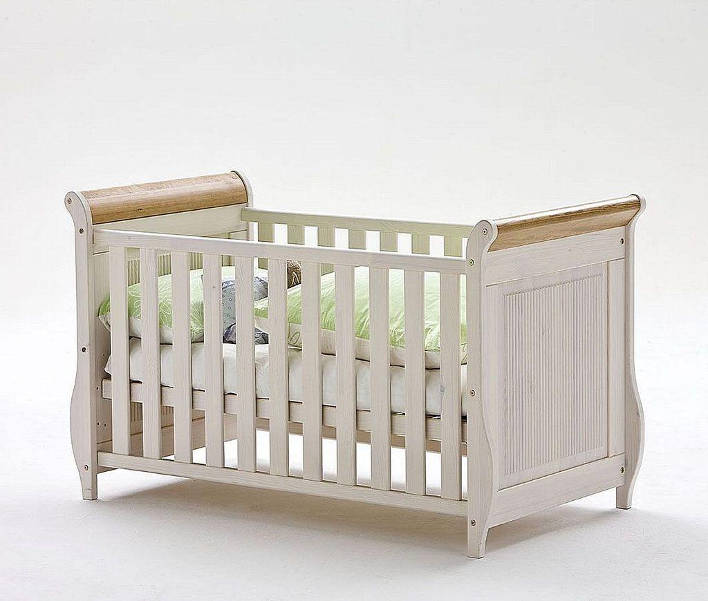 babyzimmer set 6teilig kiefer massiv 2farbig wei antik. Black Bedroom Furniture Sets. Home Design Ideas
