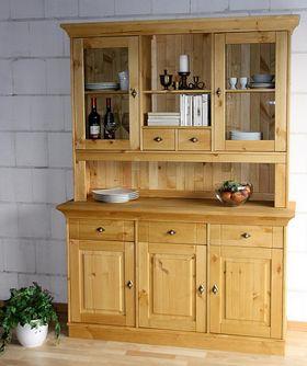 Buffetschrank - Küchenschrank - Anrichte aus Massivholz