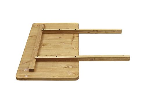 Esstisch 140x90cm gelaugt geölt Kiefer Esszimmertisch Tisch Vollholz massiv – Bild 4