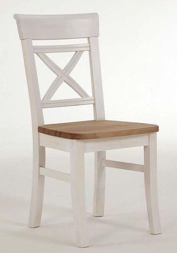 Küchentisch 78x78cm 2farbig weiß gelaugt geölt Kiefer Esstisch Tisch Vollholz massiv – Bild 7