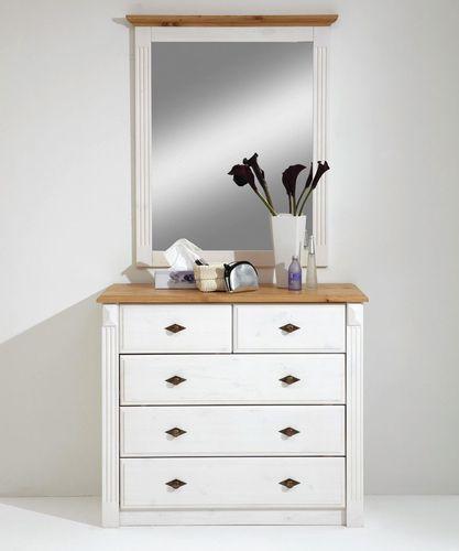 Schlafzimmer EVA, komplett-Set, Kiefer weiß-gelaugt im Landhausstil – Bild 4