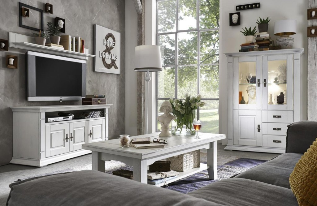 wohnzimmer einrichtungsideen shabby. Black Bedroom Furniture Sets. Home Design Ideas