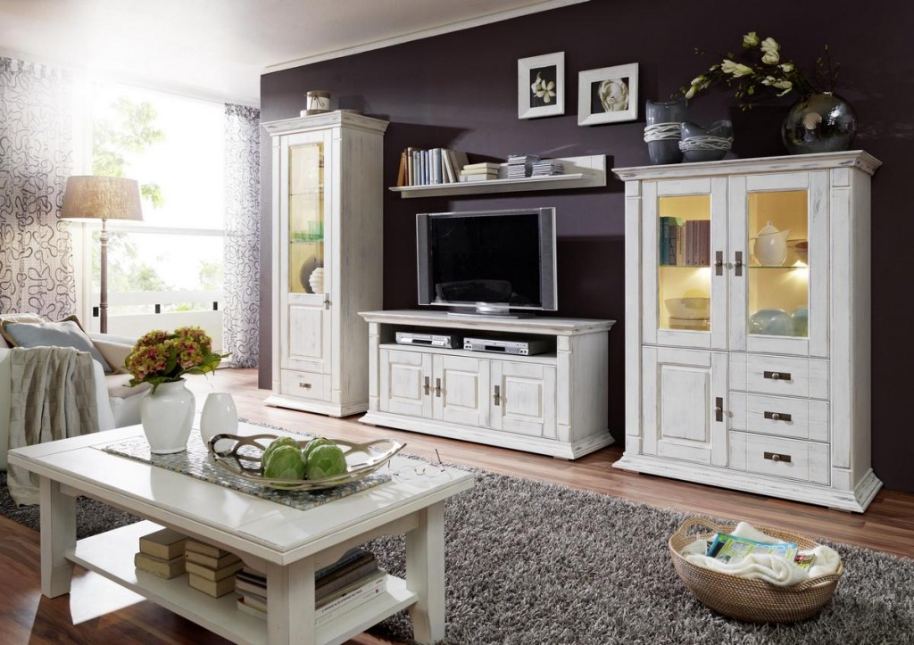 massivholz wohnzimmer. Black Bedroom Furniture Sets. Home Design Ideas