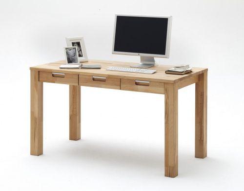 Massivholz Schreibtisch Kernbuche massiv geölt Büro Möbel PC-Tisch ...