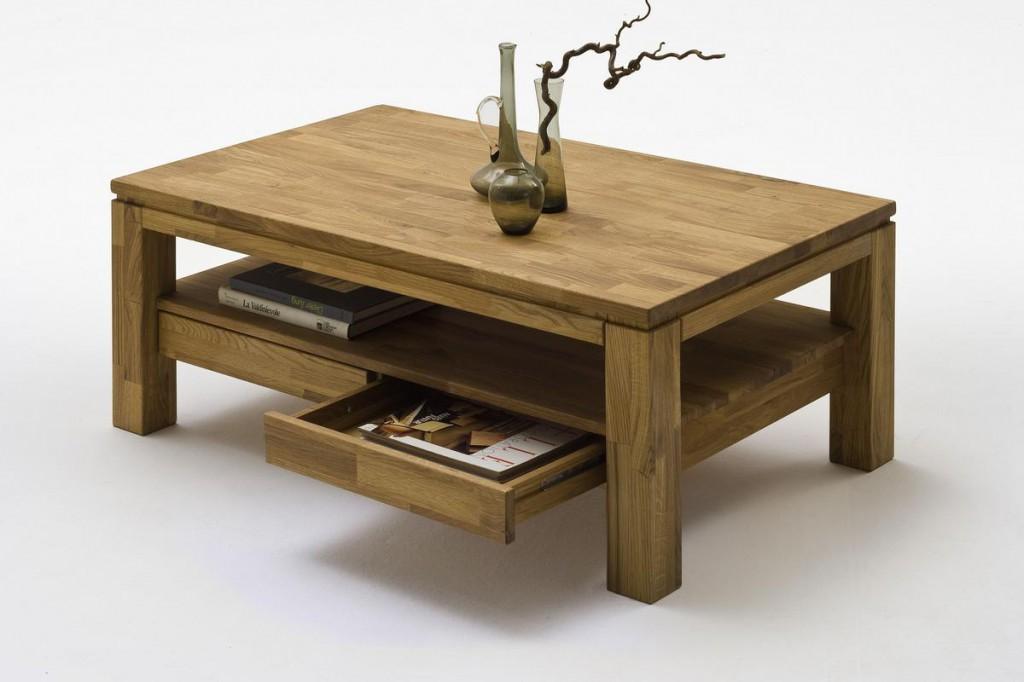 couchtisch 115x45x70cm ablageboden 2 schubk sten asteiche massiv ge lt. Black Bedroom Furniture Sets. Home Design Ideas