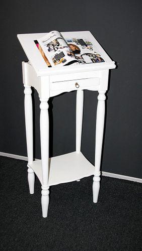 Stehpult VARESE Pappel weiß lackiert, Rednerpult, Notenständer – Bild 2