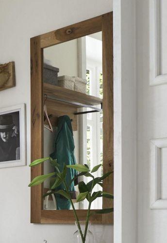 Wandspiegel 50x100 Balkeneiche geölt Dielenspiegel Eiche massiv – Bild 1