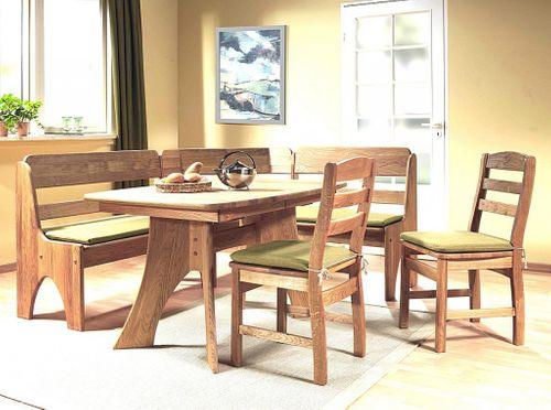 Ausziehtisch 130/172/214x84 Wildeiche geölt Esstisch Holz Eiche massiv – Bild 8