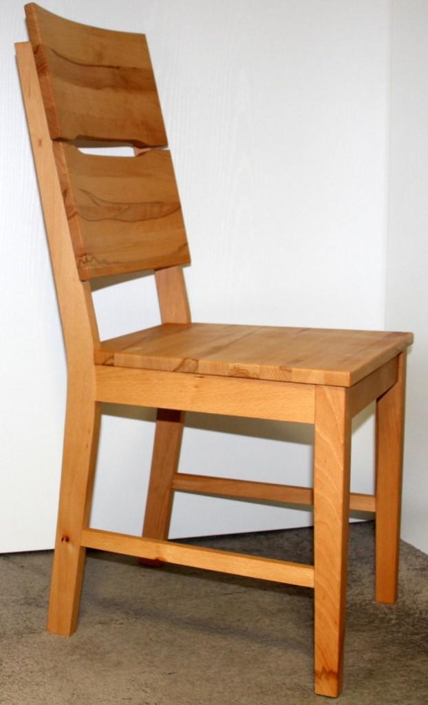 Massivholz Stuhl Kernbuche Massiv Geölt Küchenstuhl