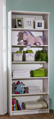 Babyzimmer komplett 5teilig groß weiß lackiert Kiefer massiv – Bild 8