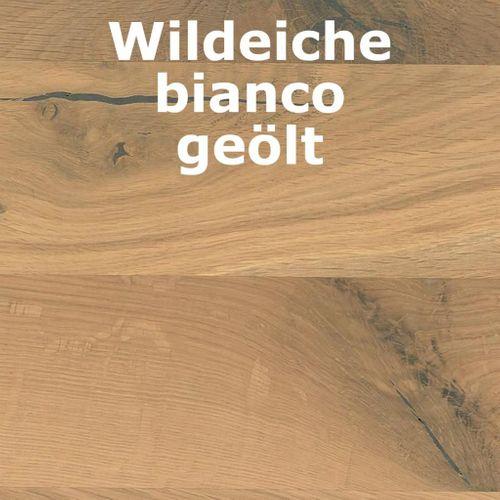 Hochschrank Wildeiche/Kernbuche geölt Turm rechts Holz massiv – Bild 4