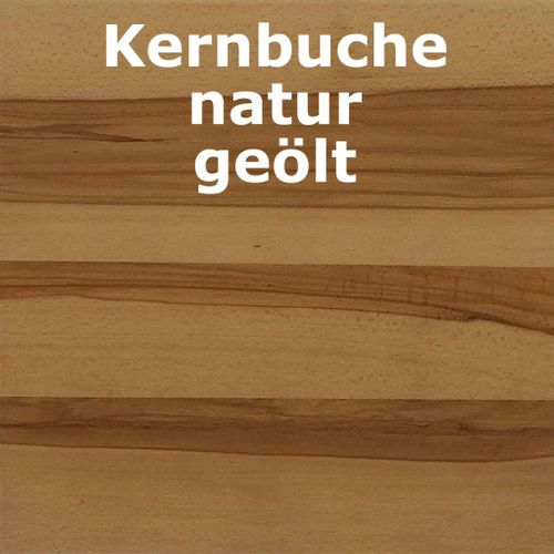 Highboard Wildeiche/Kernbuche natur geölt Kommode Holz massiv – Bild 3