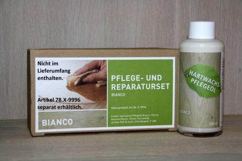Möbel-Pflegeöl Hartwachs-Möbelöl Eiche BIANCO – Bild 3