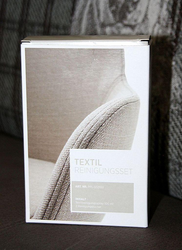 Textil-Reinigungsset mit Reinigungsspray und Tüchern Textil-Pflegeset – Bild 3