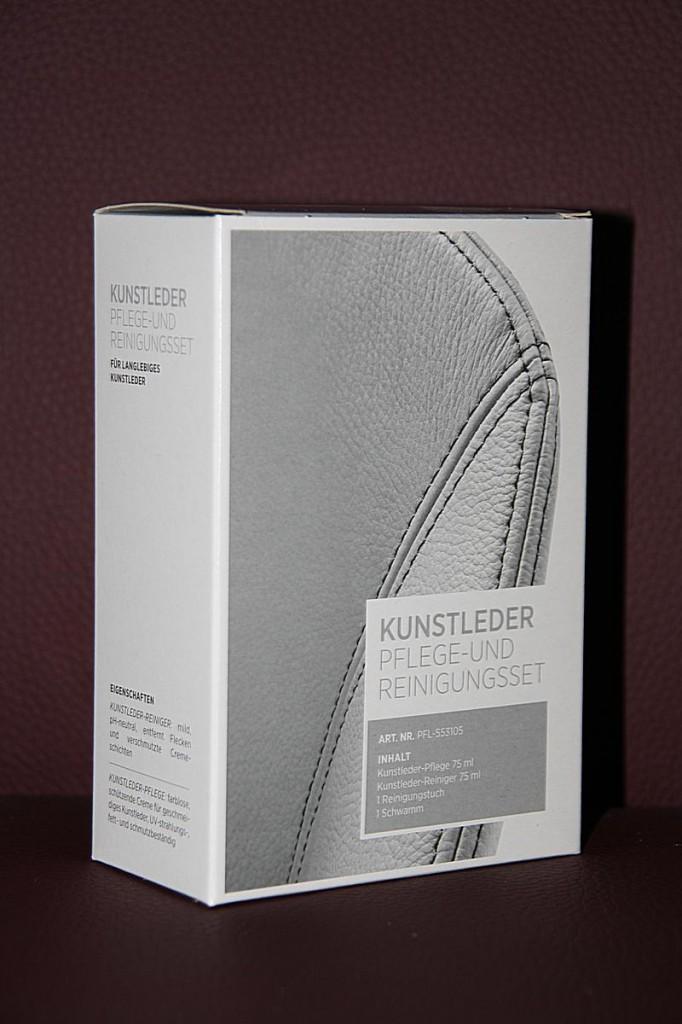 Pflege-Set Kunstleder Reinigungs-Set Textilleder 4teilig – Bild 5