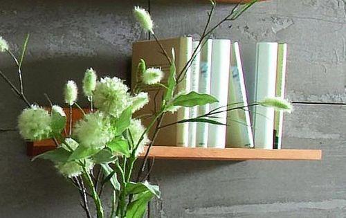 Wandregal 60cm aus Kernbuche, natur geölt – Bild 2