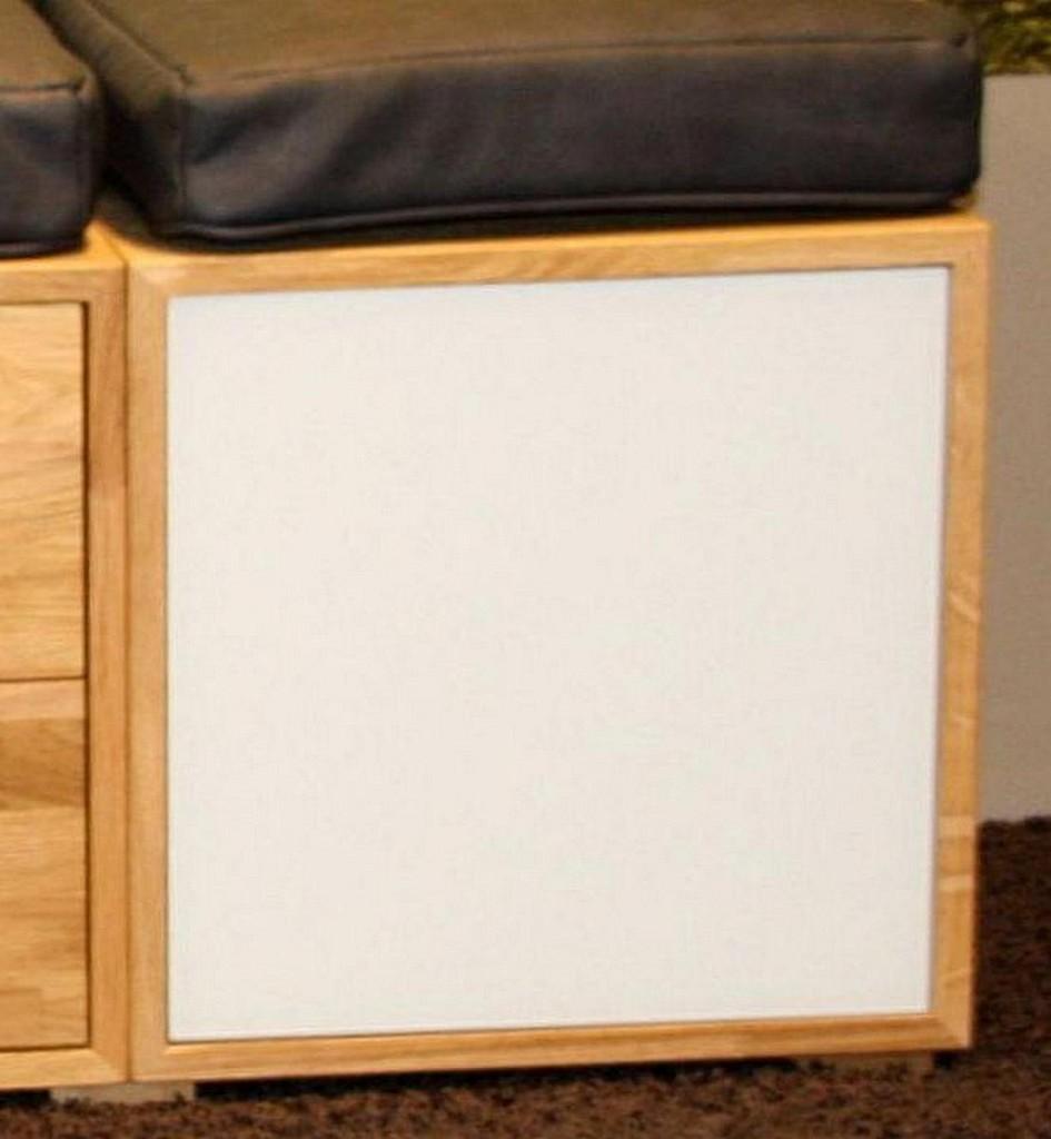 w rfel regal mit glast r h ngevitrine wildeiche massiv ge lt. Black Bedroom Furniture Sets. Home Design Ideas