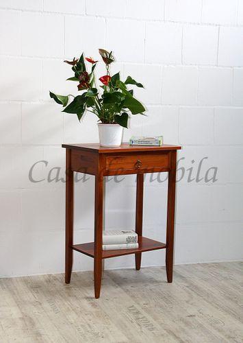 Beistelltisch kirschbaumfarben Konsolentisch Telefontisch Massivholz – Bild 1