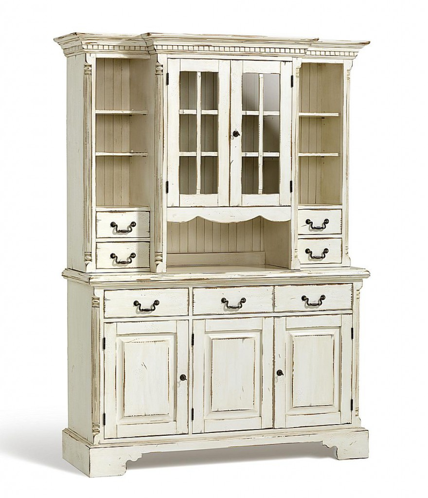 buffet schrank fichte massiv antik creme vintage. Black Bedroom Furniture Sets. Home Design Ideas