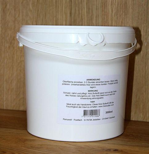 Renuwell Holzbutter Möbelpflege Holzpflege 3000 ml – Bild 6