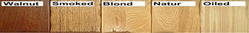 Buffet-Schrank ARIÈGE 127x199cm Eiche 2farbig Cappuccino / Blond Vintage – Bild 4
