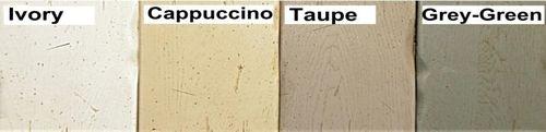 Farmhousetisch ARIÈGE 220x76x100cm Eiche 2farbig Cappuccino / Blond massiv Esstisch Küchentisch Vintage – Bild 6
