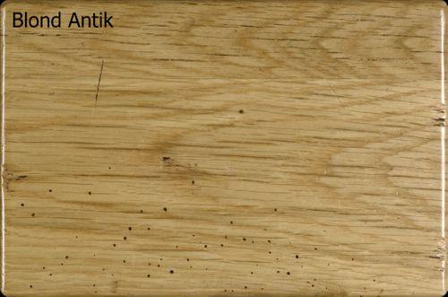 Tisch-Ansteckplatte ARIÈGE 45x100 Eiche Blond lackiert Vintage – Bild 5