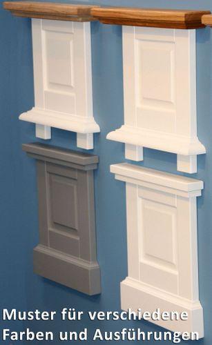 Wandspiegel 80x68Dielenspiegel Flurspiegel Buche grau Wildeiche bianco geölt – Bild 5