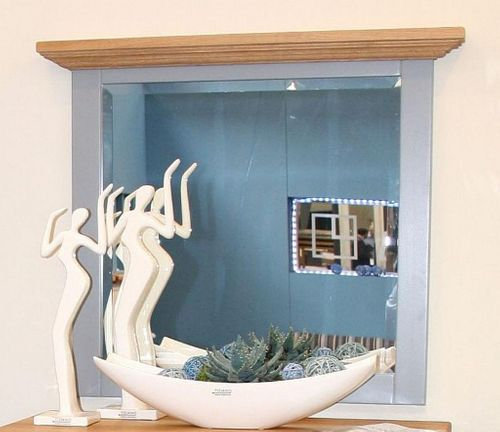 Dielen-Set 3teilig Dielenmöbel Buche grau Wildeiche bianco geölt Flurmöbel – Bild 5