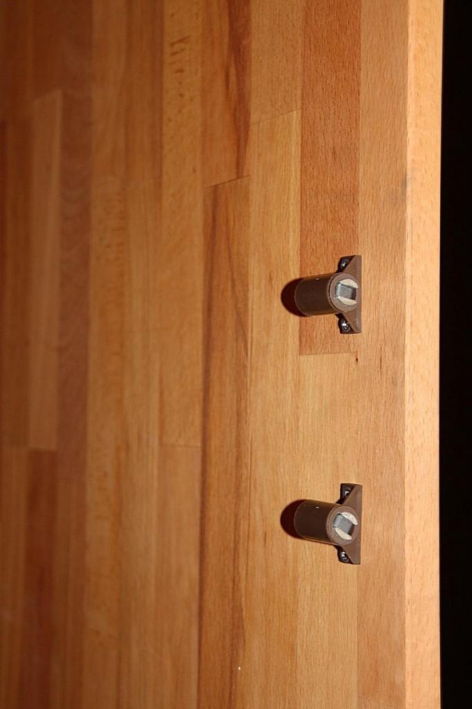 Kleiderschrank 2türig Kernbuche Schrank Vollholz massiv geölt Schlafzimmerschrank – Bild 8