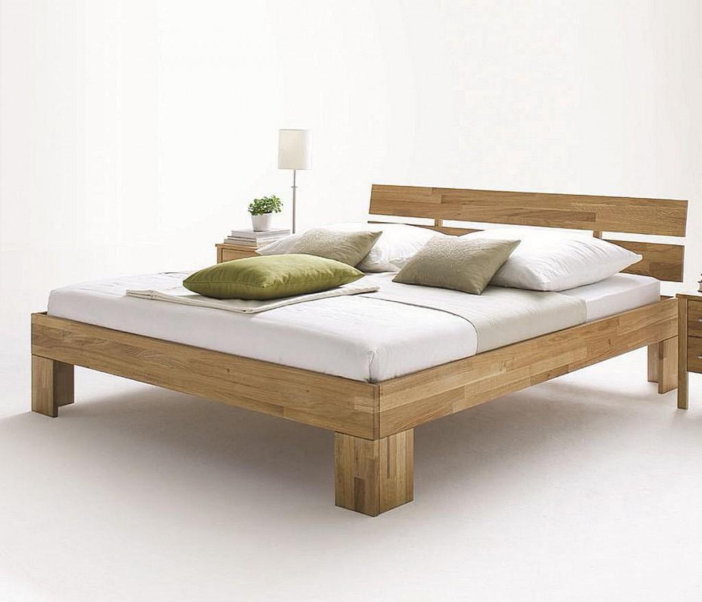 bett 140x220 kopfteil geteilt wildeiche massiv ge lt. Black Bedroom Furniture Sets. Home Design Ideas
