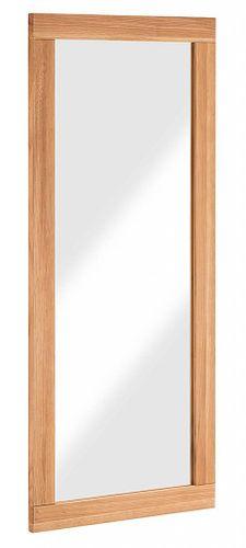 Dielenspiegel 50x120 Wildeiche Flurspiegel Vollholz Wandspiegel massiv geölt – Bild 1