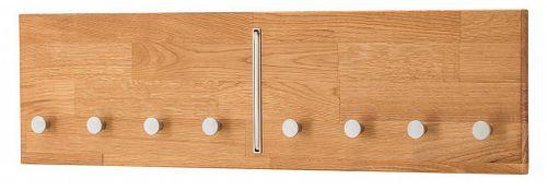 Dielenmöbel 5teilig Schuhschrank Bank Kommode Spiegel Garderobe Wildeiche geölt – Bild 8