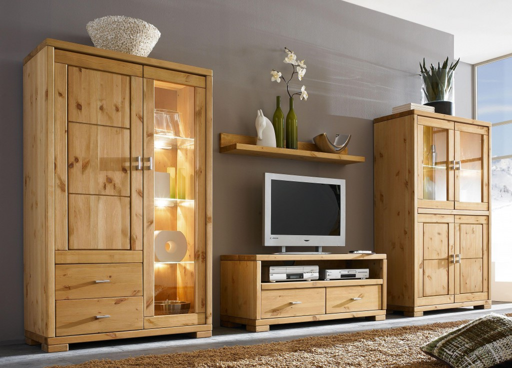 massivholz wandregal 120cm kiefer massiv gelaugt ge lt. Black Bedroom Furniture Sets. Home Design Ideas