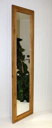 Wandspiegel 50x175 Vollholz Schlafzimmerspiegel Dielenspiegel Wildeiche massiv geölt – Bild 3
