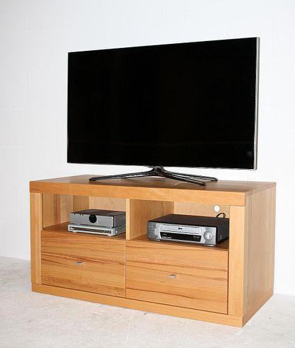TV-Lowboard Kernbuche TV-Kommode Vollholz Fernsehkommode Buche massiv geölt – Bild 2