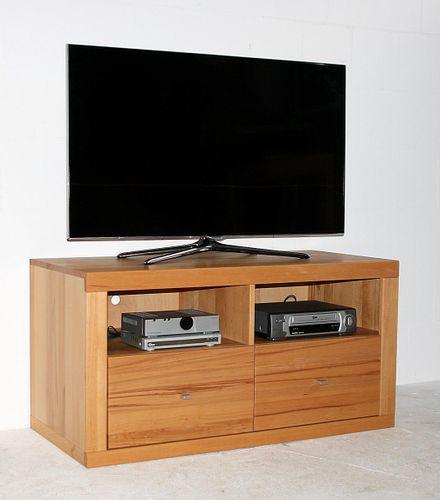 TV-Lowboard Kernbuche TV-Kommode Vollholz Fernsehkommode Buche massiv geölt – Bild 4