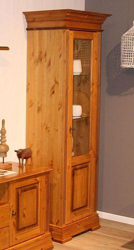 Anbauwand 5teilig Kiefer Wohnwand Schrankwand goldbraun lackiert honigfarben – Bild 6
