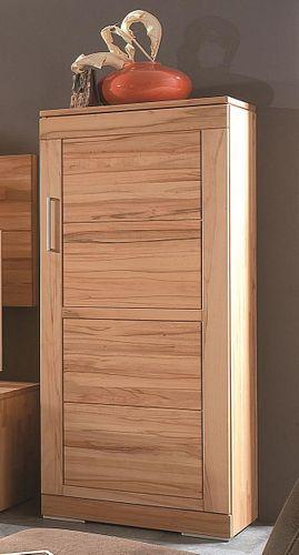 Massivholz Wohnzimmerschrank rechts Kernbuche massiv natur geölt Mehrzweckschrank  – Bild 1